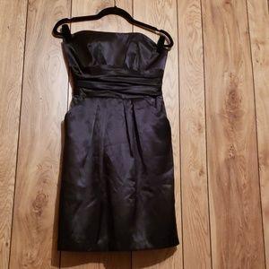 David's Bridal little black dress